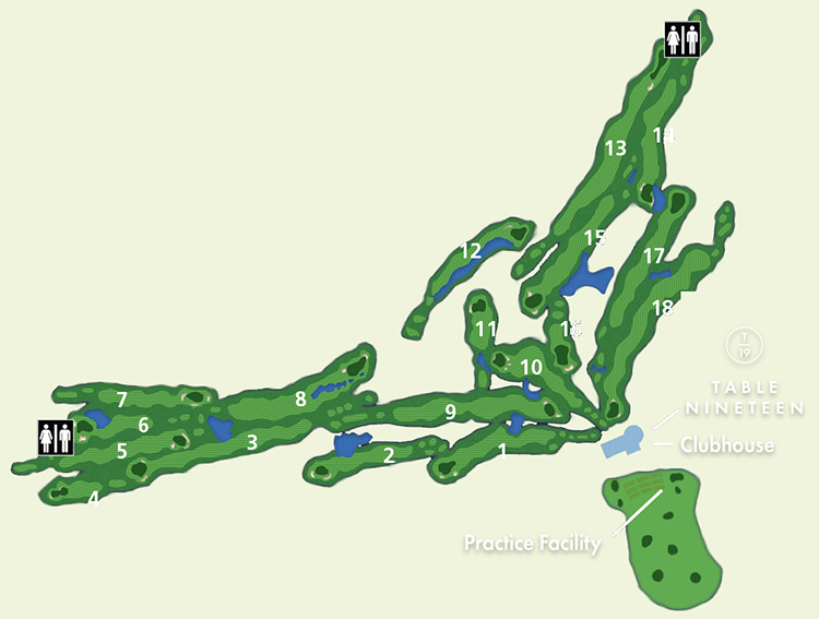 Olympic View Course Overview Map