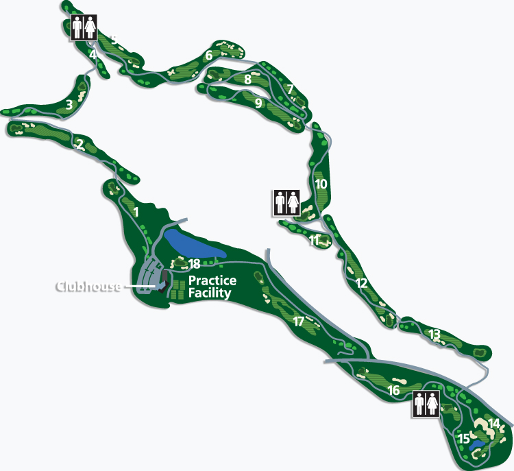 The Quail Course Overview Map